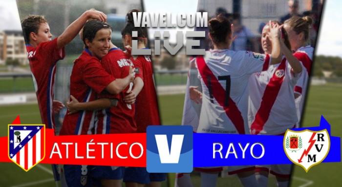 Atlético Femenino - Rayo Vallecano, así lo vivimos (2-0)