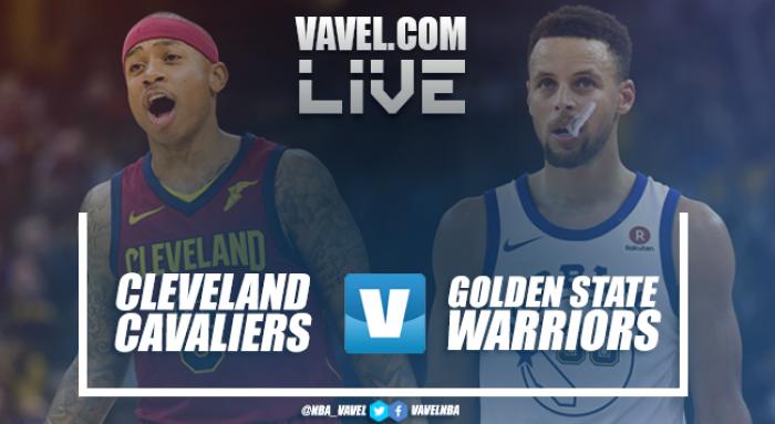 Resumen Cleveland Cavaliers vs Golden State Warriors en vivo y en directo online (108-118)