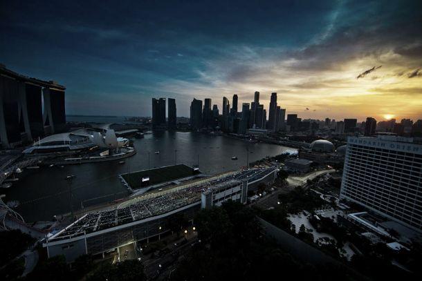 Entrenamientos Libres 1 del Gran Premio de Singapur de Fórmula 1 2014, en vivo y en directo online