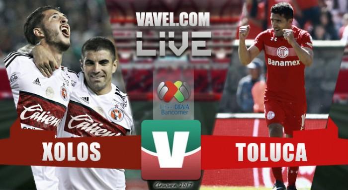 Resultado y goles del partido Xolos 2-0 Toluca de la Liga MX Clausura 2017