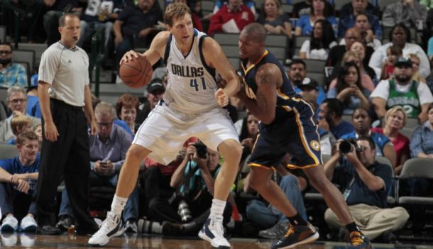Dirk Nowitzki's Pre-Season Debut Helps Lift The Dallas Mavericks Over The Indiana Pacers