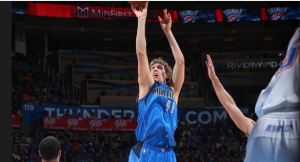 La tripla doppia di Westbrook non basta ai Thunder, Dallas passa alla Chesapeake Energy Arena