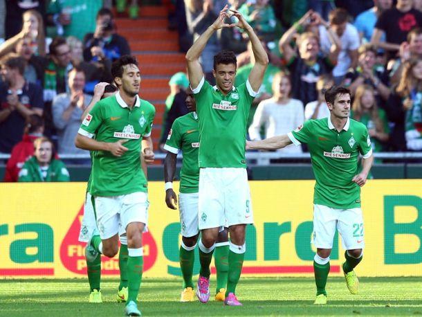 Werder Bremen 1-1 SC Freiburg: Spoils shared as Di Santo earns point forDie Grün-Weißen