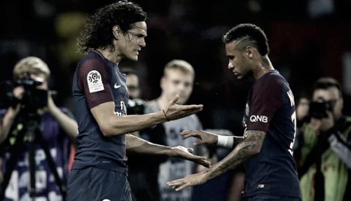 """Declaración de Cavani sobre su relación con Neymar: """"Se agrandaron las cosas"""""""