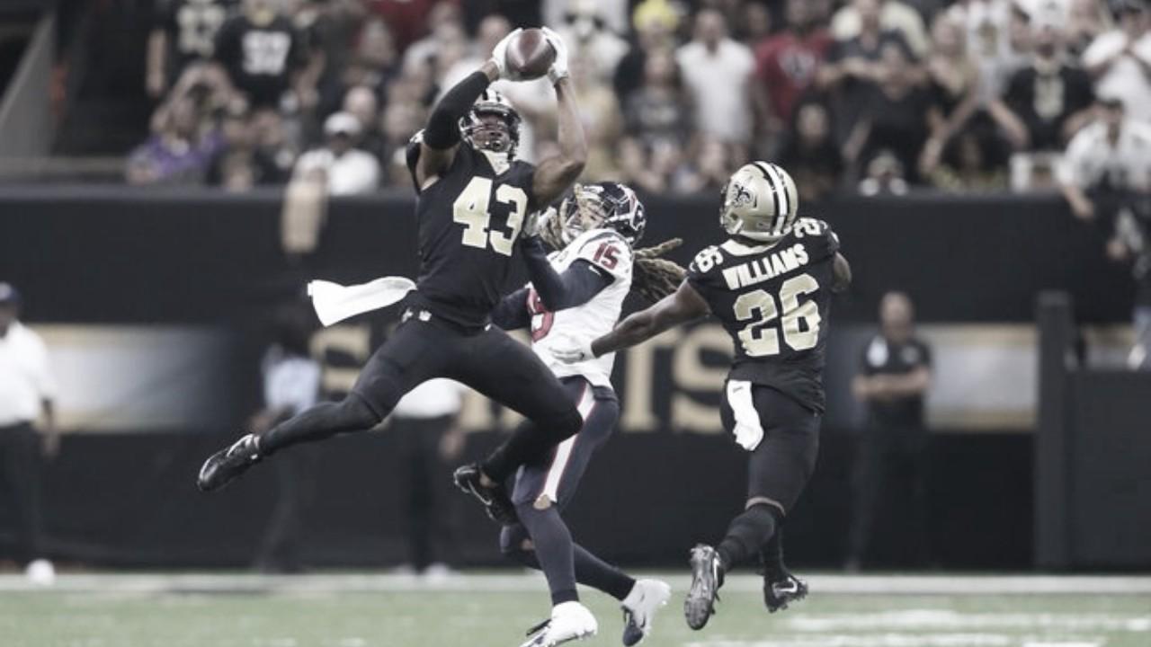 Saints logra el milagro en New Orleans y vence a los Texans