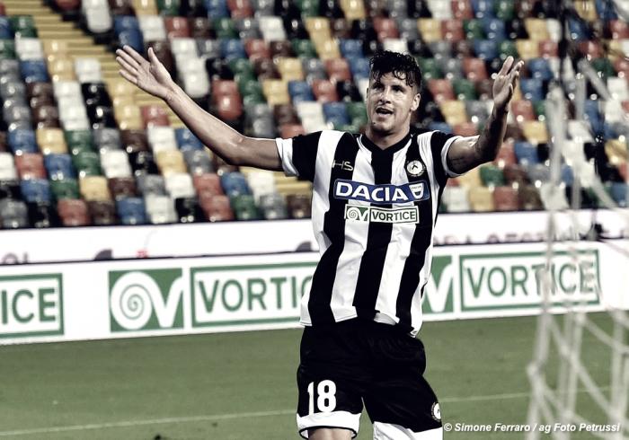Udinese - Perica out per infortunio. Salterà le prime tre giornate di campionato?