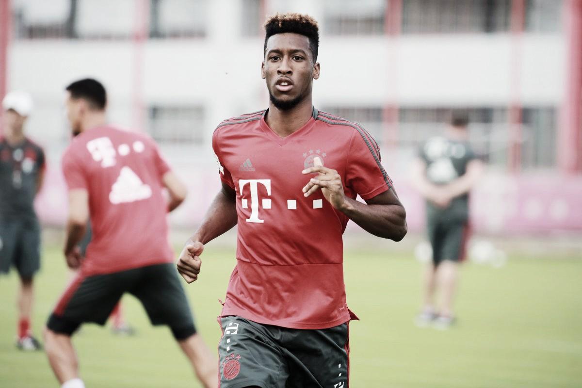 Kingsley Coman quiere recuperar su importancia en el Bayern