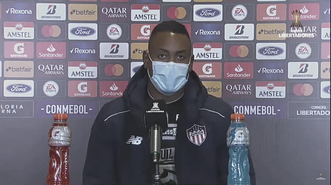 """Willer Ditta: """"A pesar de recibir dos goles, marcamos de visita"""""""