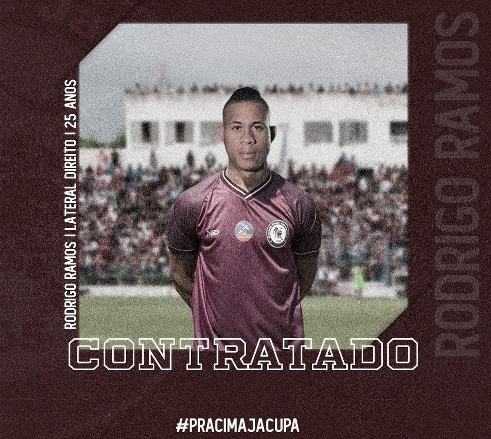 Jacuipense anuncia lateral Rodrigo Ramos, destaque do Campeonato Baiano pela Juazeirense