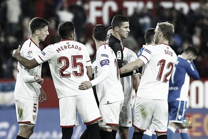 Sevilla mantém boa fase, bate Deportivo e alcança cinco jogos sem derrota