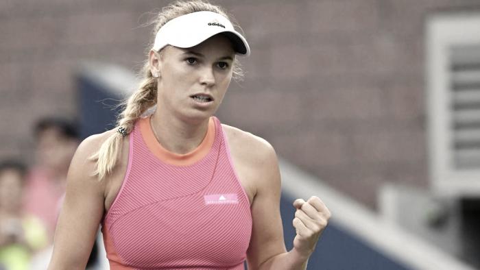 US Open: Caroline Wozniacki wins her 100th Grand Slam match after defeatingMihaela Buzarnescu