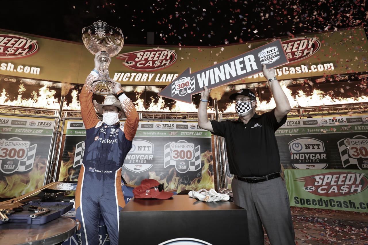 Indycar Series: Dixon fue amo y señor en Texas