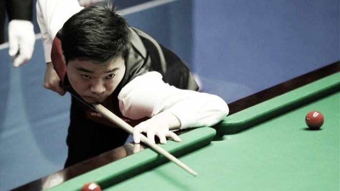 Ding Junhui cruises past Mark Williams in just two sessions