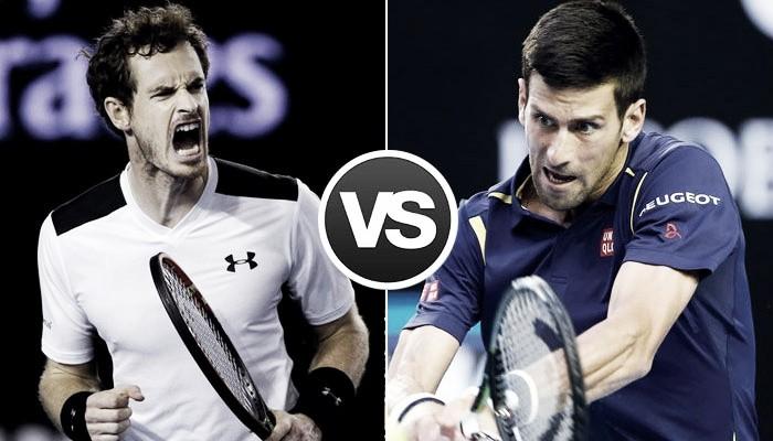 Djokovic vs Murray: a temporada 2016 e os cenários da briga pela liderança do ranking