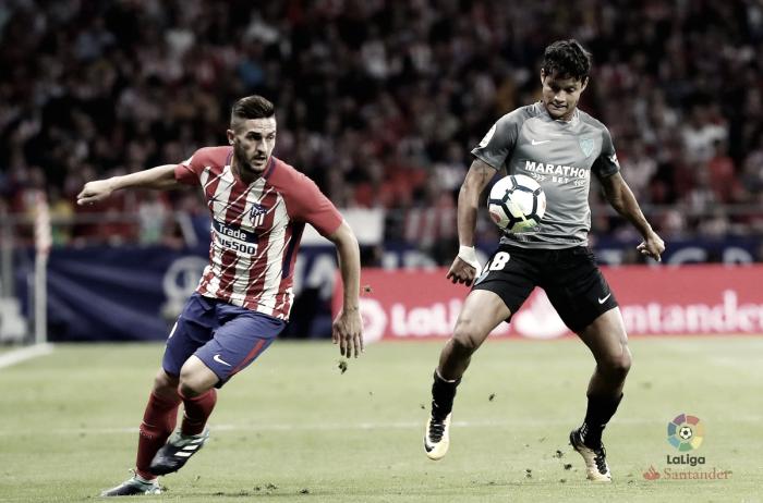 Málaga CF - Atlético de Madrid: puntuaciones del Málaga, jornada 4 de LaLiga