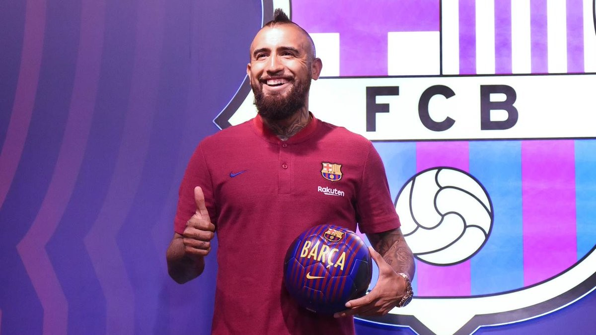 """Barcellona, Vidal si presenta: """"Sono nel miglior club al mondo, voglio vincere tutto"""""""