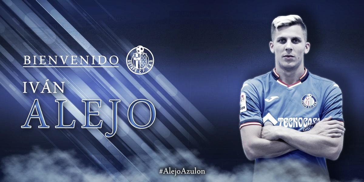 El Getafe oficializa el fichaje de Iván Alejo