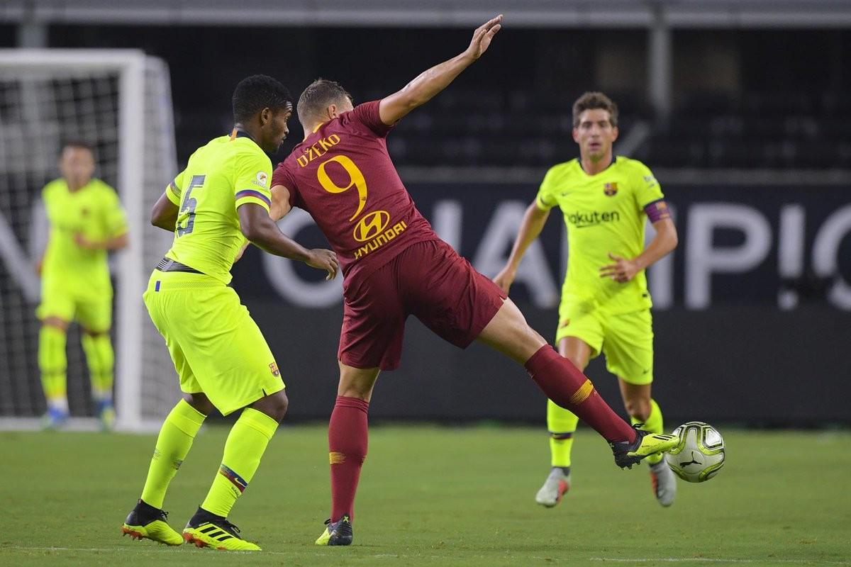 ICC - La Roma batte in rimonta il Barcellona: 4-2