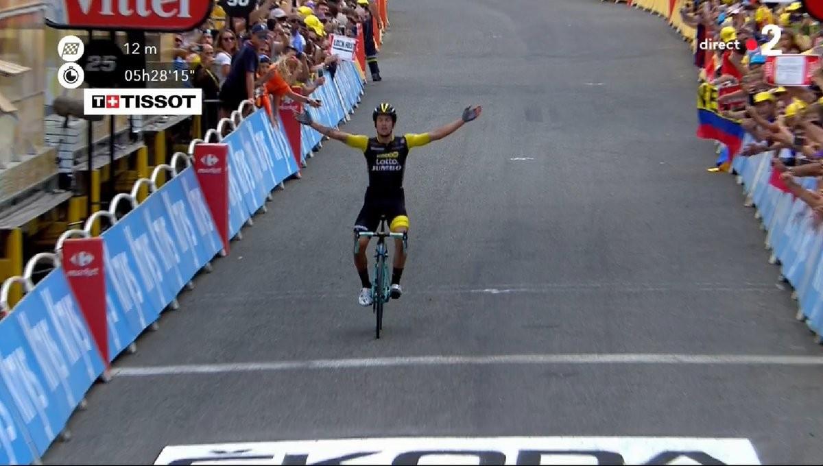 Tour de France - Roglic re dei Pirenei; Thomas resta in maglia gialla