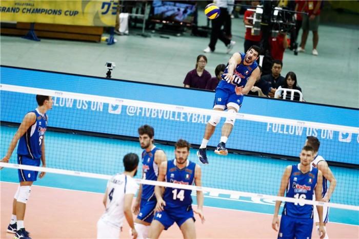 Volley M - Esordio amaro per l'Italia. Nella Grand Champions Cup cede all'Iran