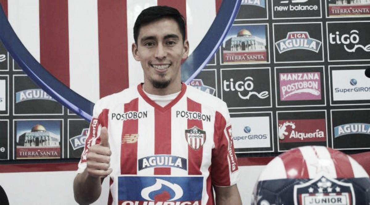 Junior incorpora a Fabián Sambueza a su plantilla
