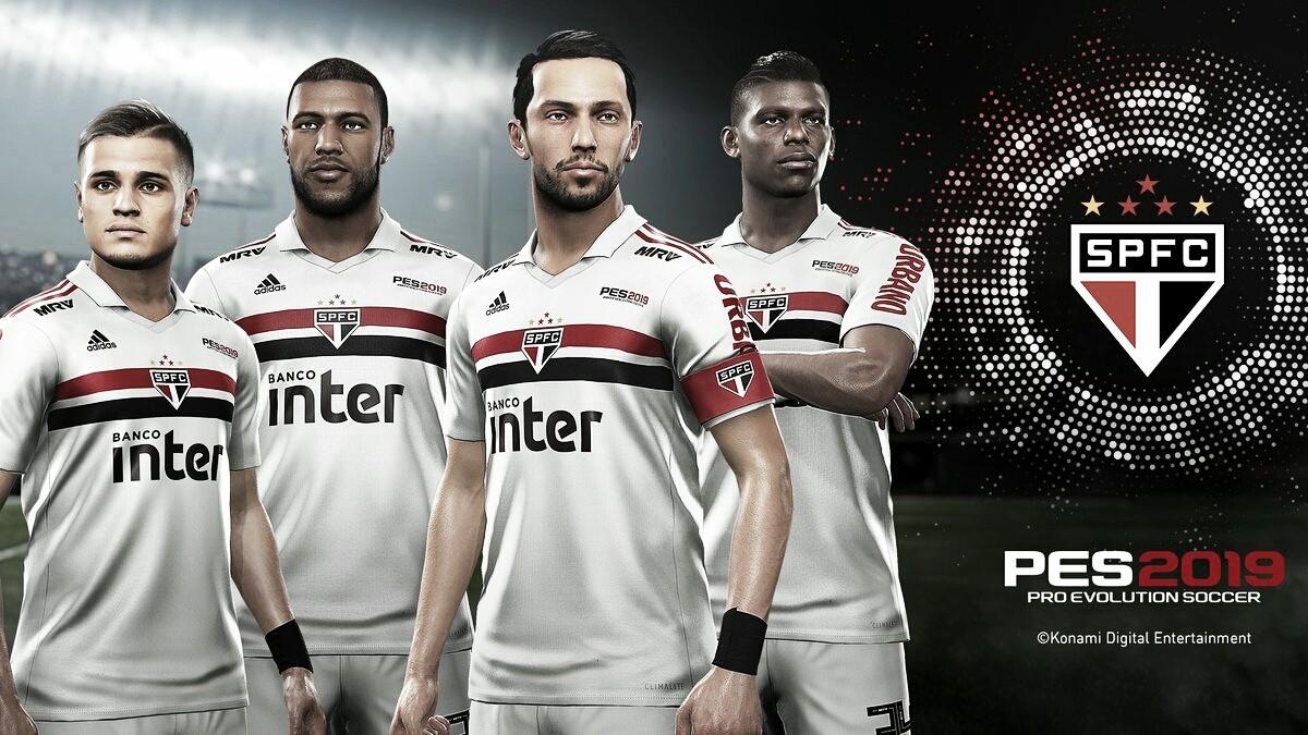 Konami é a nova patrocinadora do São Paulo por duas temporadas