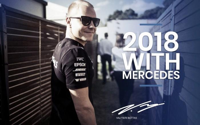 OFICIAL: Valtteri Bottas renueva con Mercedes un año más