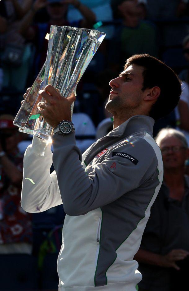 Novak Djokovic, nuevo rey en Indian Wells