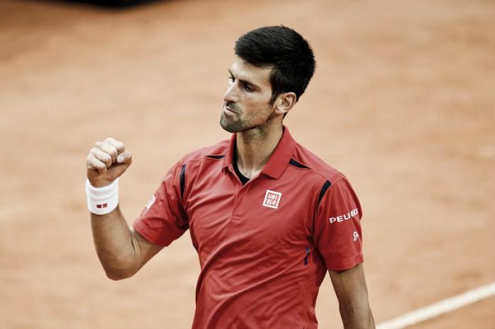Novak Djokovic vira contra Nishikori e está na final do Masters 1000 de Roma