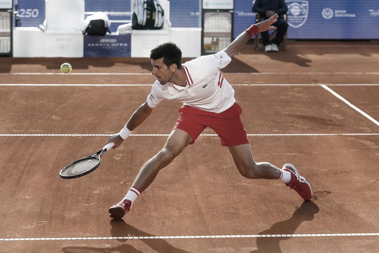 Djokovic superaKecmanovic sem problemas noATP 250 de Belgrado