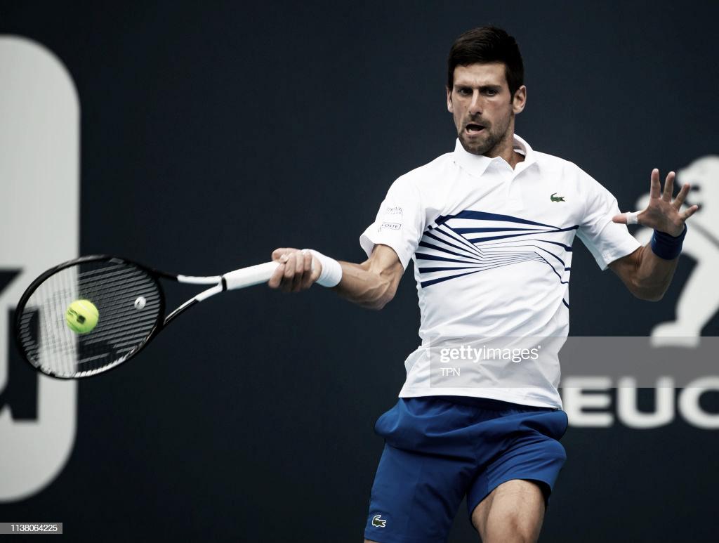 Djokovic se impone a un combativo Delbonis