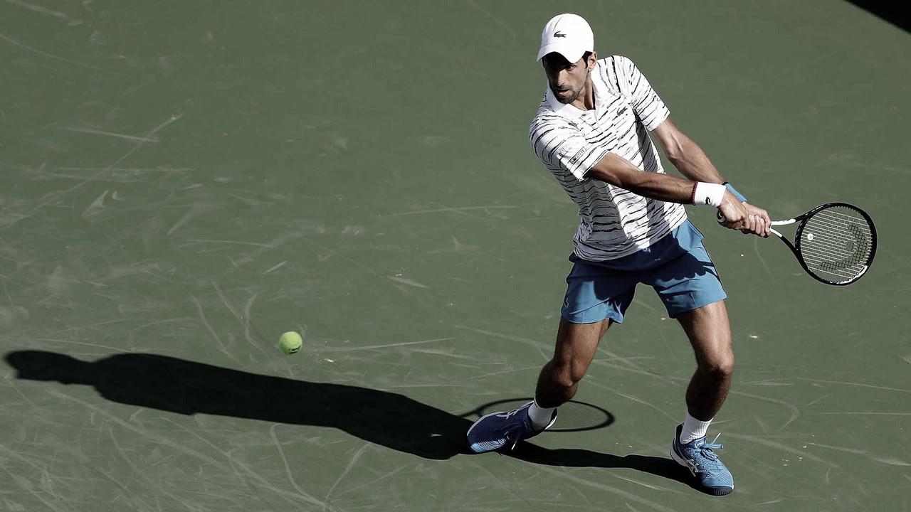 Djokovic joga bem, bate Querrey e estreia com vitória no Masters 1000 de Cincinnati
