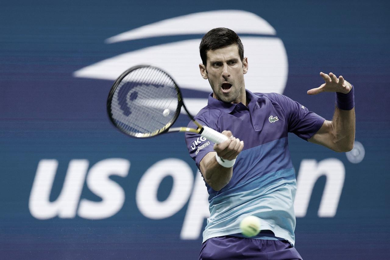 Em jogo tranquilo, Djokovic vence Griekspoor no US Open