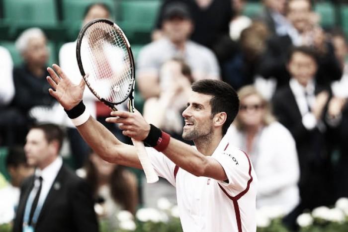 Djokovic vence em sets diretos e avança para a terceira rodada de Roland Garros