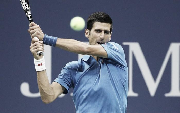 Após um mês afastado, Djokovic retorna diante de Fognini no Masters 1000 de Xangai
