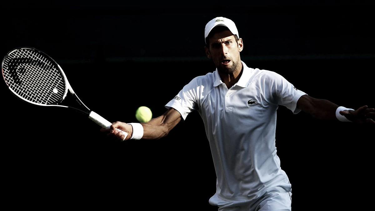 Djokovic cede apenas seis games e venceZeballos para avançar à terceirarodada de Wimbledon