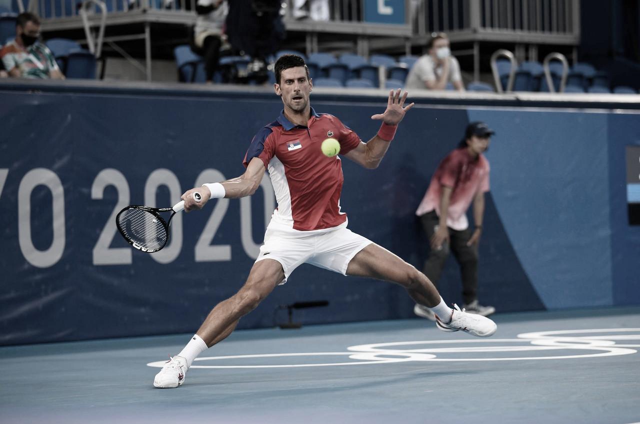Djokovic domina Davidovich e vai encarar Nishikori nas quartas dos Jogos Olímpicos