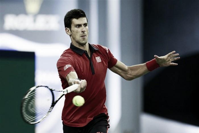 Djokovic vence de virada e avança para a semifinal no Masters 1000 de Xangai