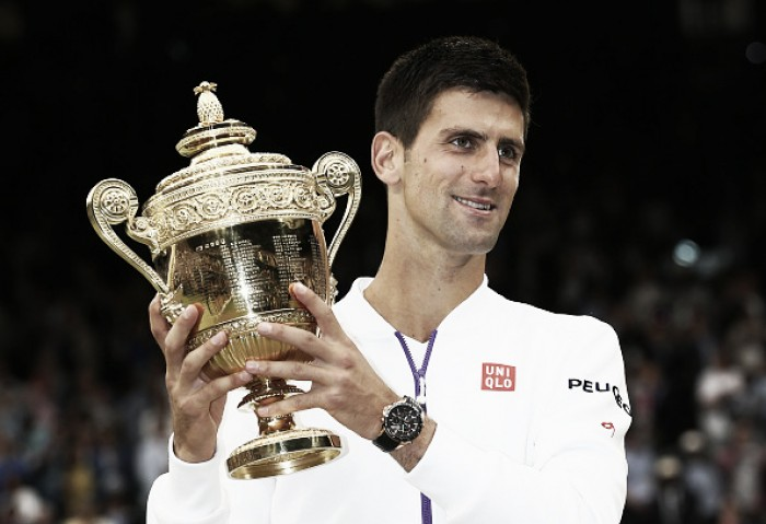 Novak Djokovic, em busca do tri consecutivo