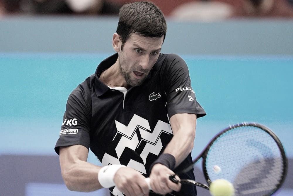 Novak Djokovic venceu Filip Krajinovic no ATP de Viena 2020 (ATP/Divulgação)
