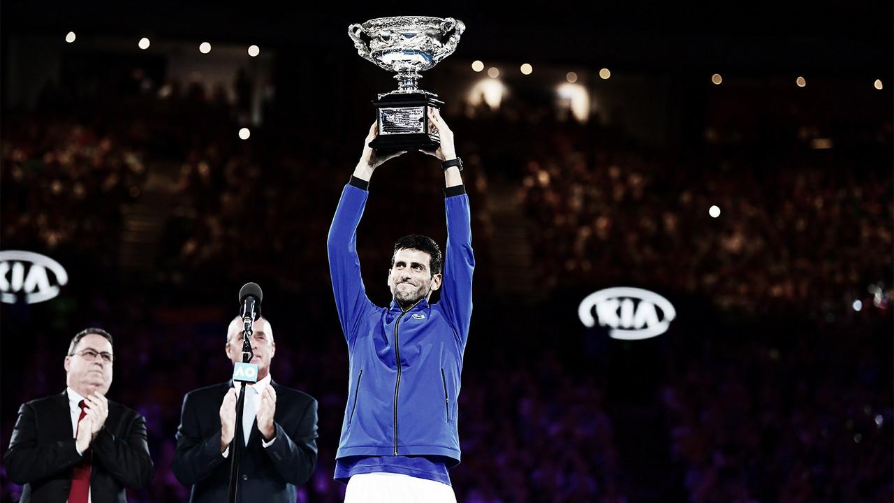 Djokovic atropela Nadal no Australian Open e conquista seu 15° Slam