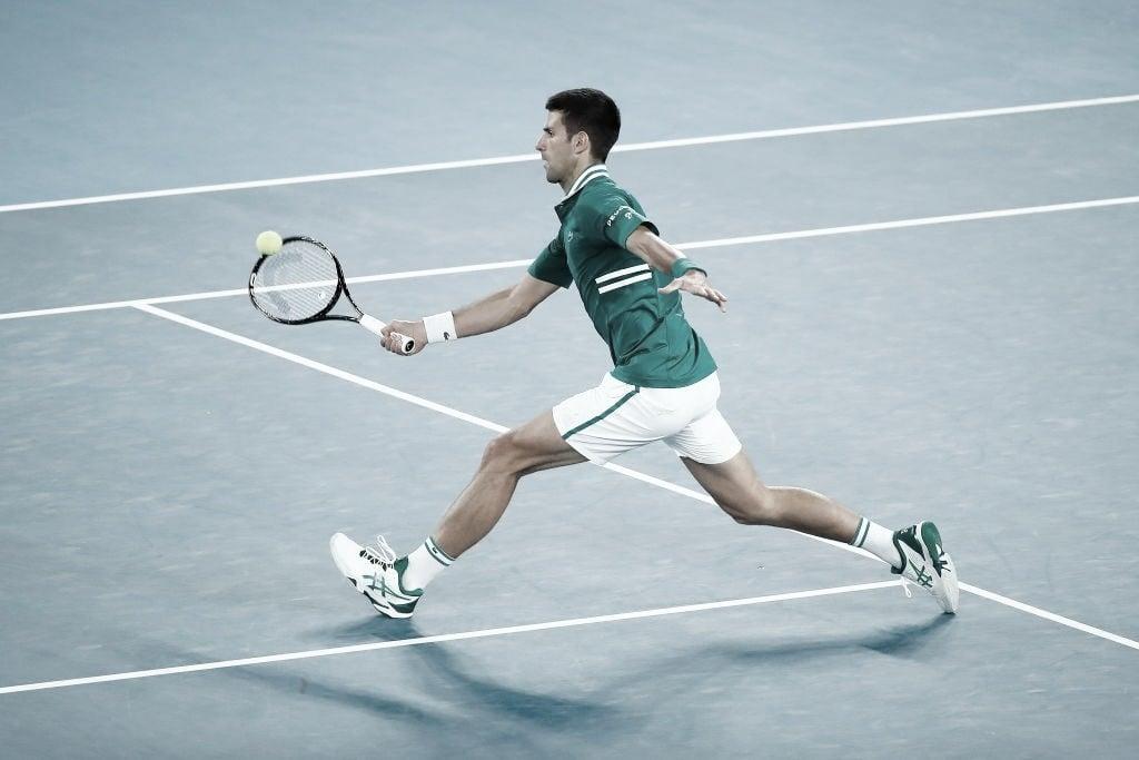Djokovic sale ileso y es semifinalista
