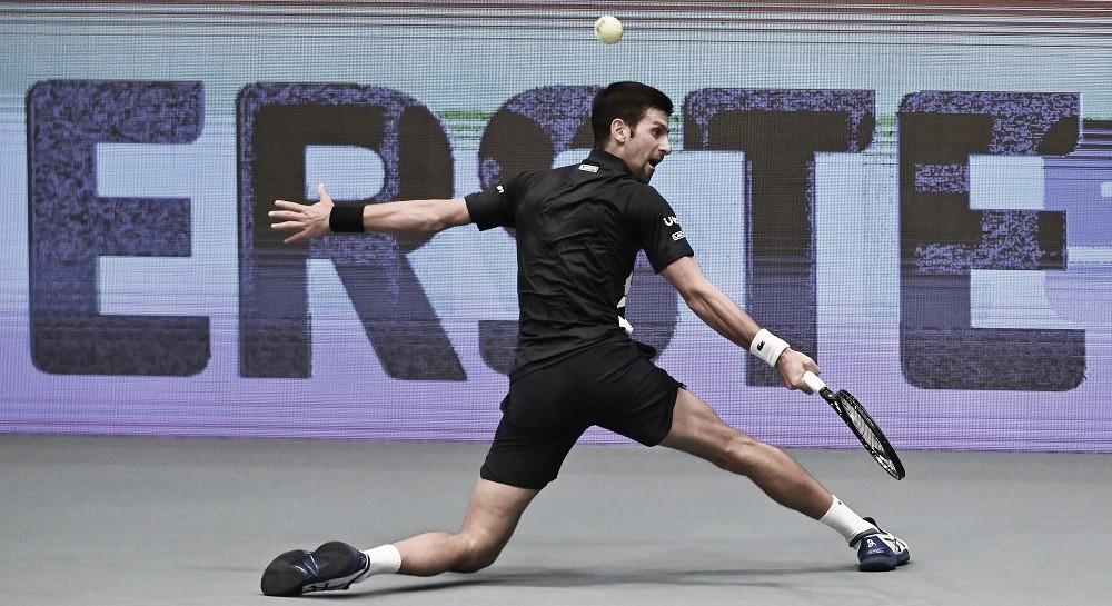 Novak Djokovic venceu Borna Coric no ATP Viena 2020 (ATP/Divulgação)