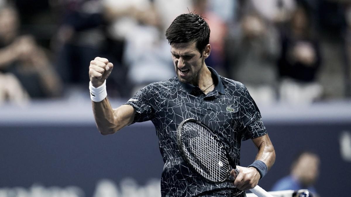 Djokovic eleva nível e passa por 'freguês' Gasquet em Nova Iorque