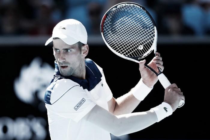 Djokovic arrasó en su debut