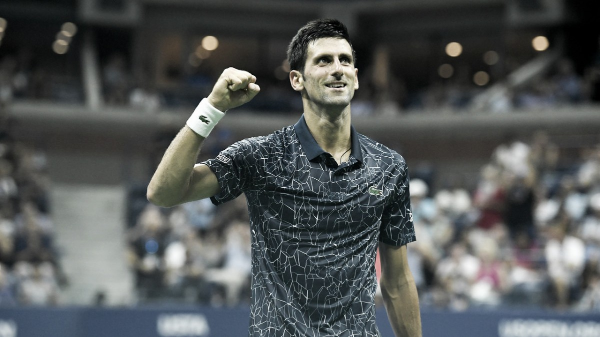 Djokovic vence John Millman em três sets e vai às semifinais do US Open