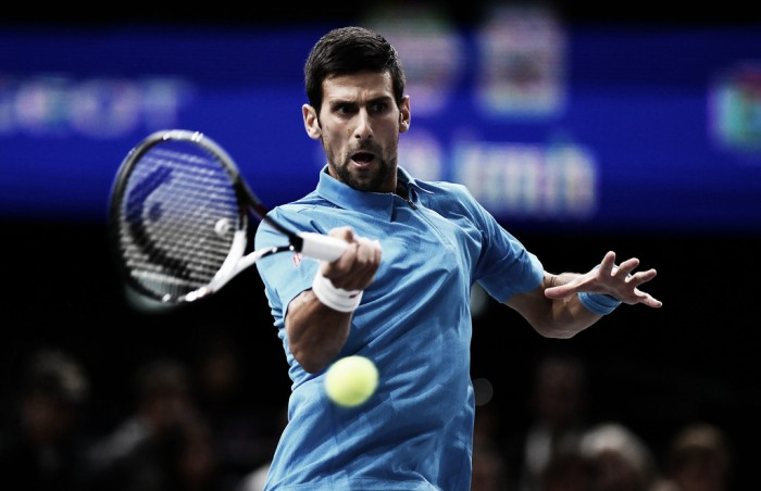 ATP Paris: Novak Djokovic survives scare to defeat Grigor Dimitrov