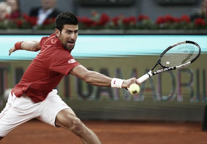 Djokovic vence japonês Kei Nishikori em sets diretos e avança à final do Masters 1000 de Madri