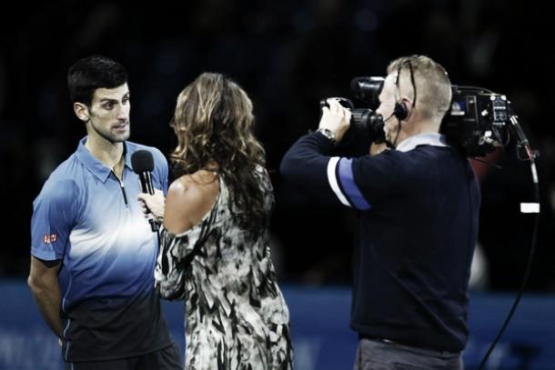 """Novak Djokovic: """"Aunque en los últimos dos encuentros no estuve bien estoy en semifinales"""""""