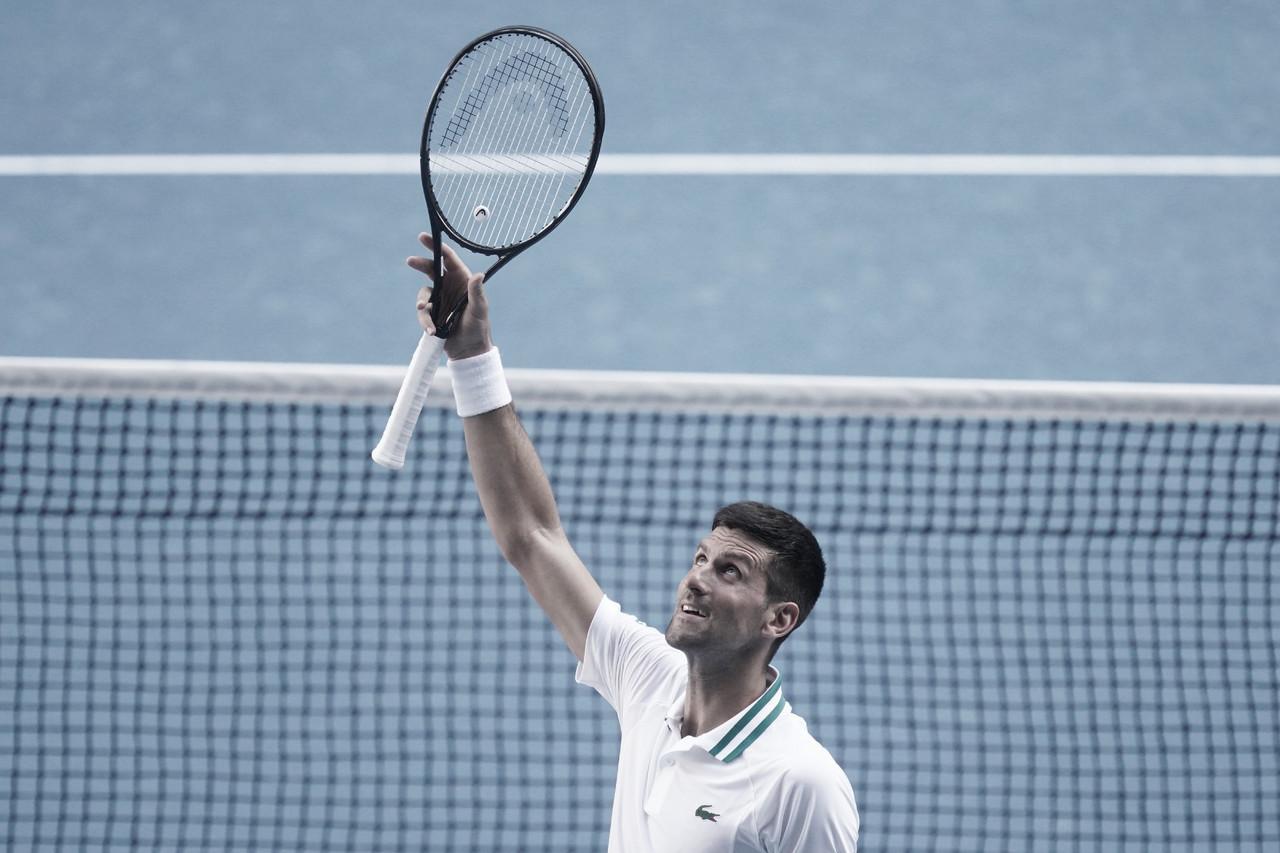 Djokovic vence longa batalha contra Tiafoe e avança na Austrália